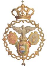 Escudo de la Real Hermandad de Nuestra Señora del Rocío de Málaga
