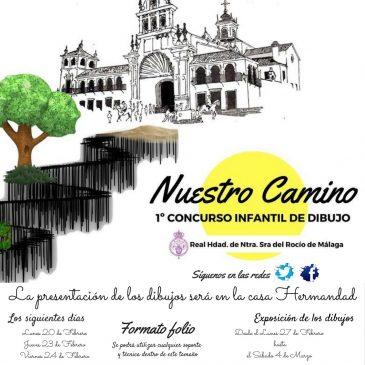 NUESTO CAMINO – 1er CONCURSO INFANTIL DE DIBUJO