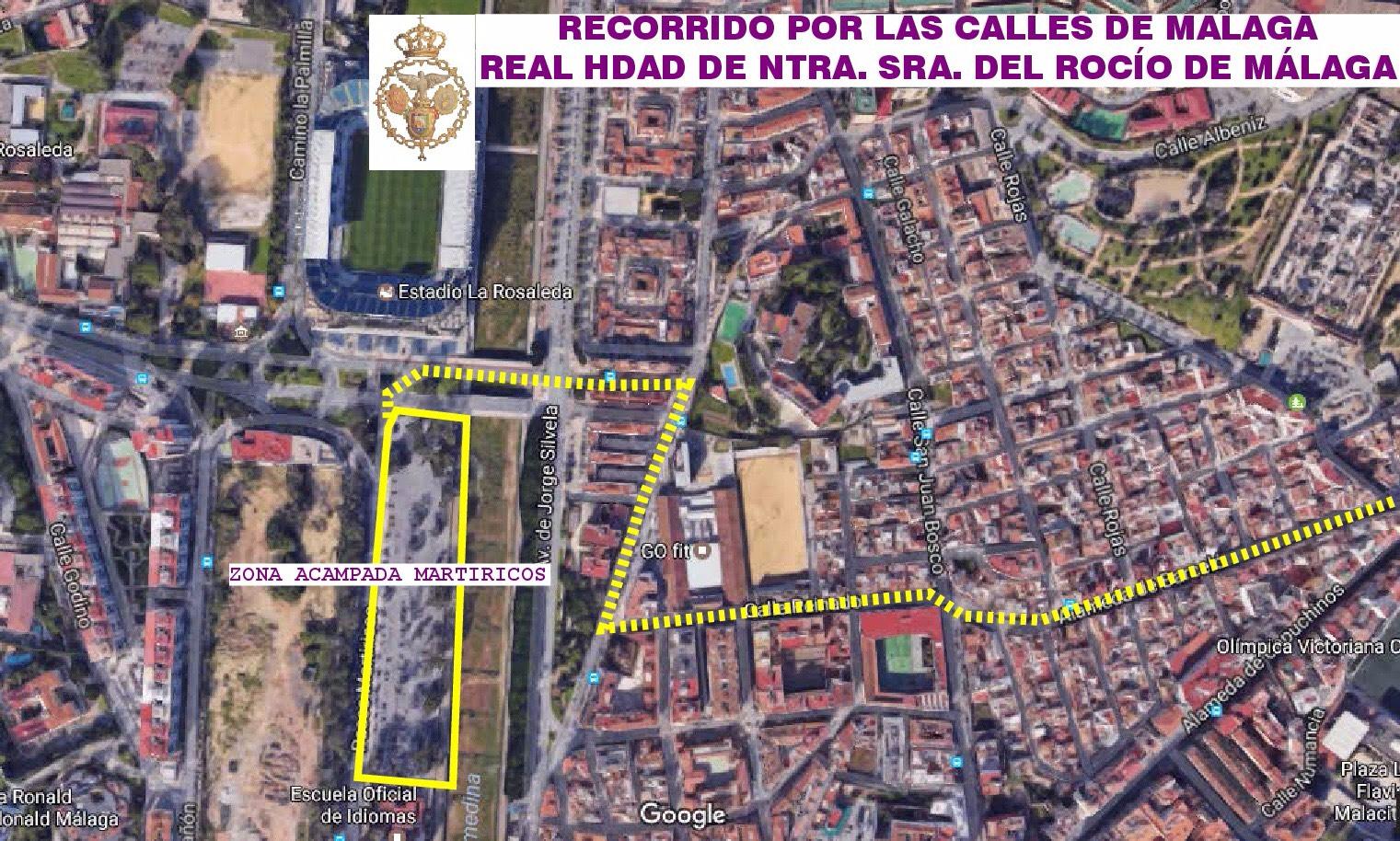 Recorrido Malaga 1