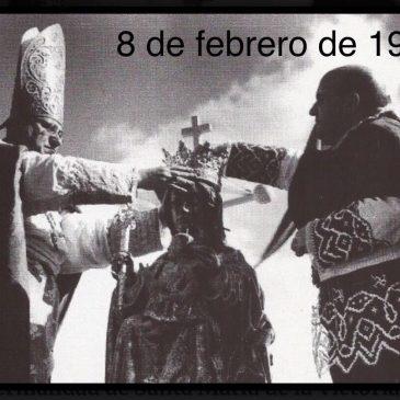 FELICITACIÓN 75 ANIVERSARIO CORONACIÓN CANÓNICA SANTA MARÍA DE LA VICTORIA