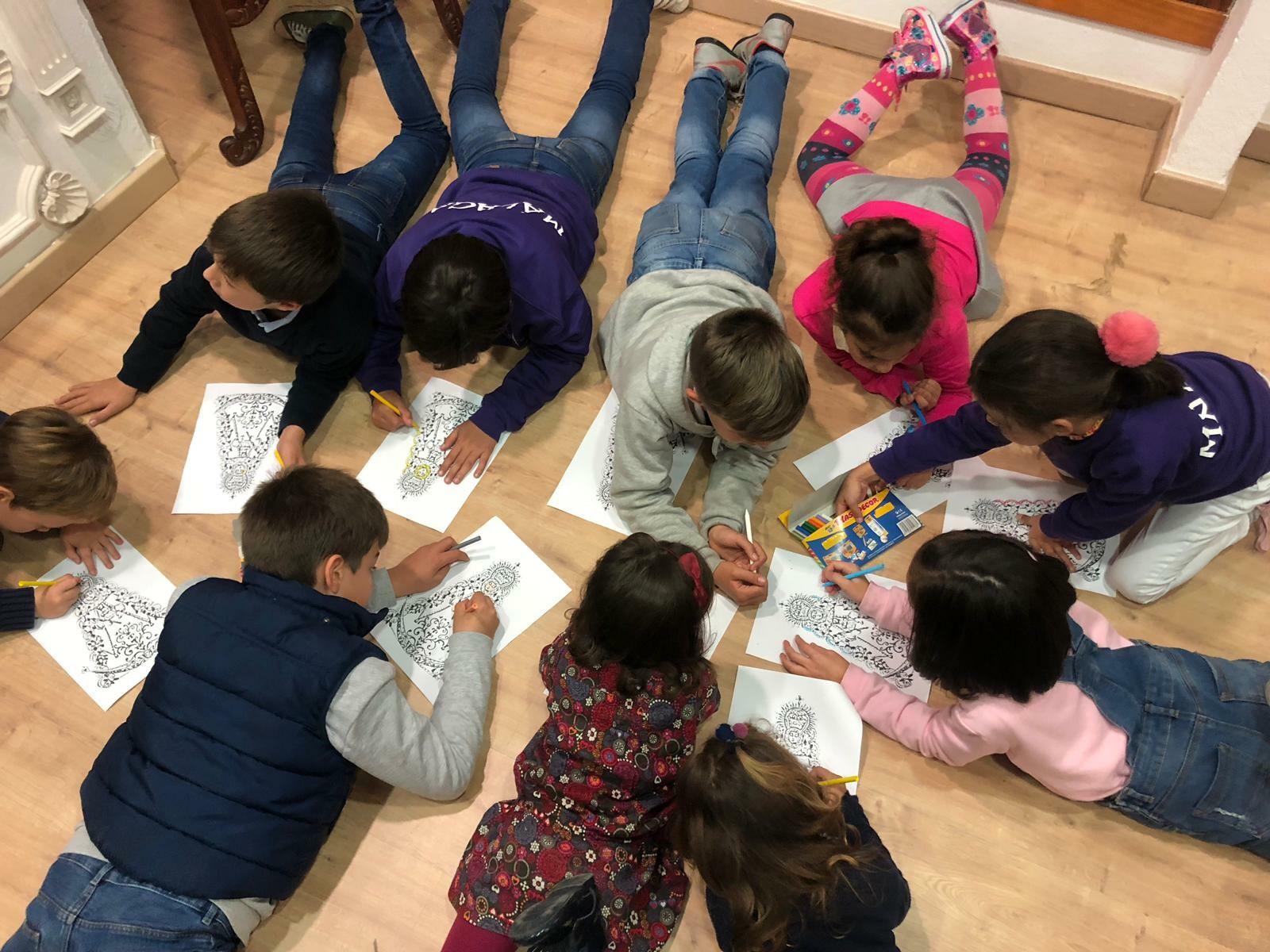 Grupo Infantil de la Real Hermandad de nuestra Señora del Rocío de Málaga
