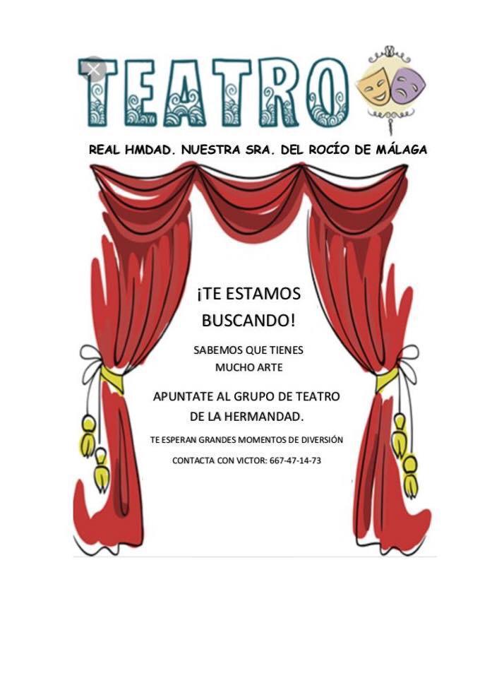 Taller de Teatro 2019 - Real Hermandad del Rocío de Málaga