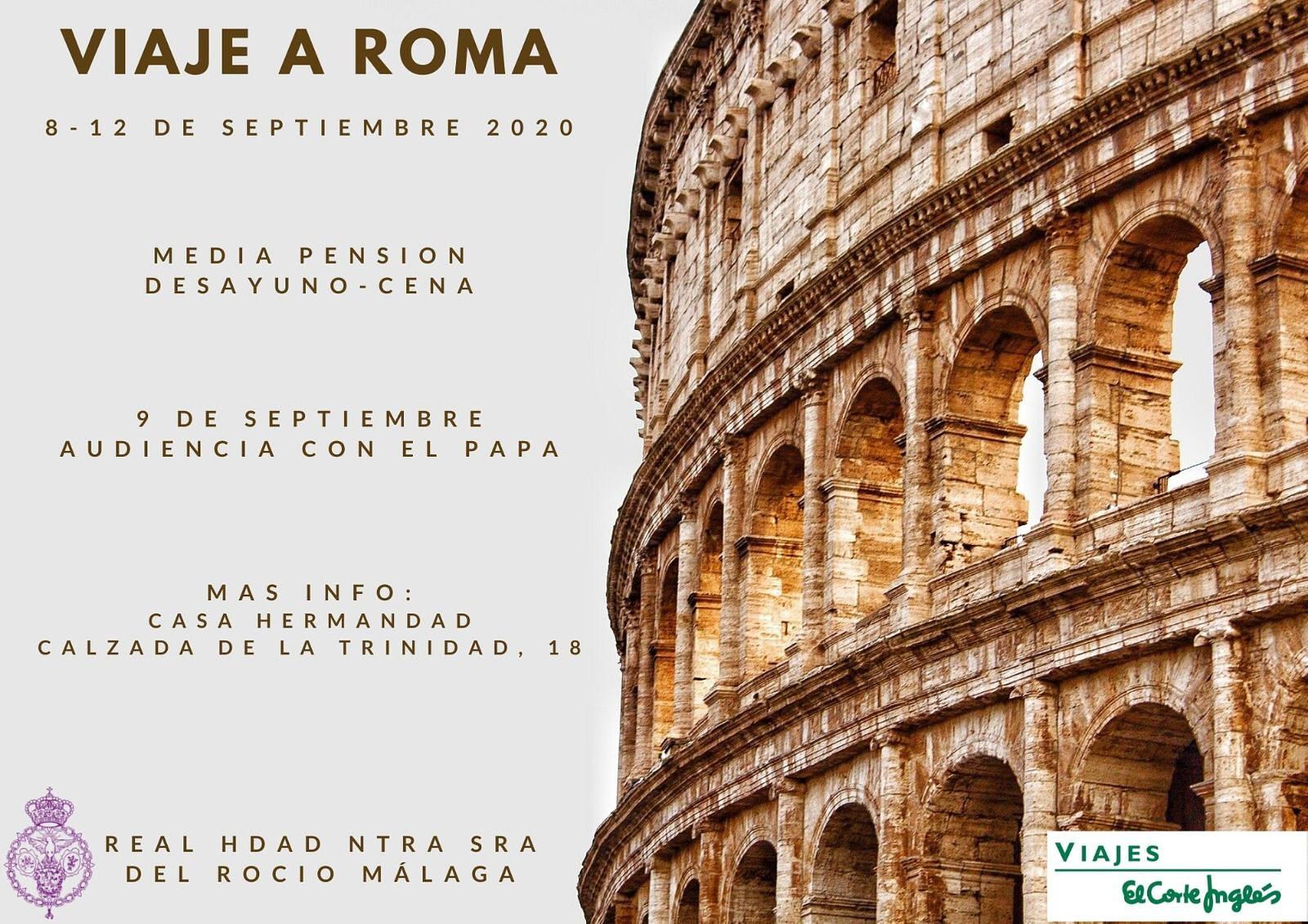 Viaje a Roma 2020